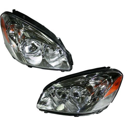 06-08 Buick Lucerne Headlight (Except CX Model) Pair
