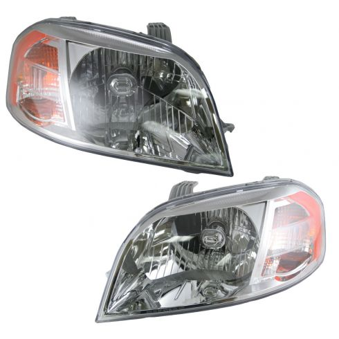 07-08 Chevy Aveo Sedan Headlight Pair
