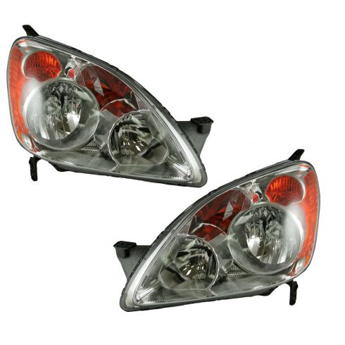 05-06 Honda C-RV Headlight Pair (Built in Japan)