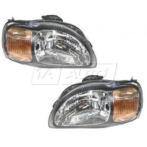 99-02 Suzuki Esteem Headlight Pair