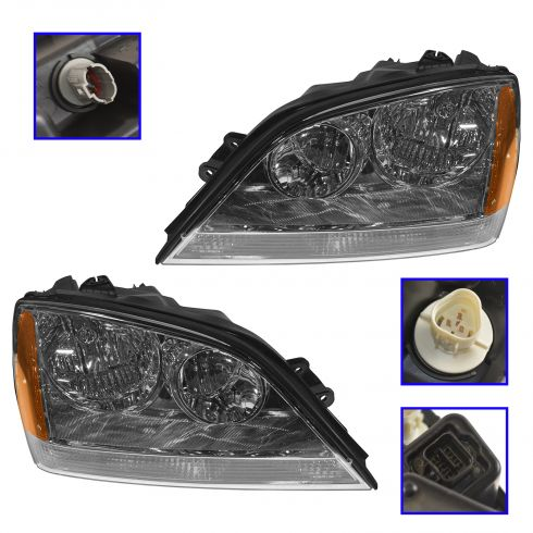 2003-04 Kia Sorento Headlight PAIR