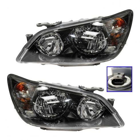 02-03 Lexus IS300 HID (w/Ballast) Headlight PAIR