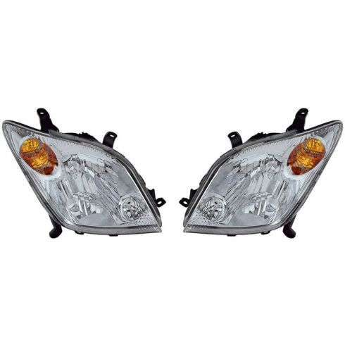 2004-05 Scion xA Headlight PAIR