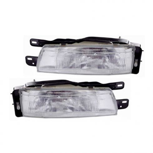90-92 Nissan Stanza Headlight PAIR