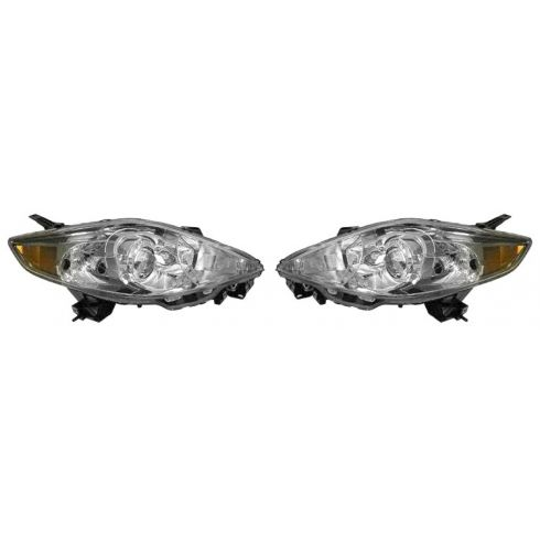 2006-07 Mazda 5 Halogen Headlight PAIR