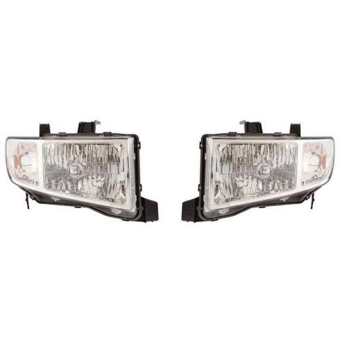 2009-10 Honda Ridgeline Headlight PAIR