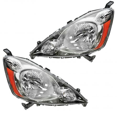 2009-10 Honda Fit w/Sport Pkg Headlight PAIR