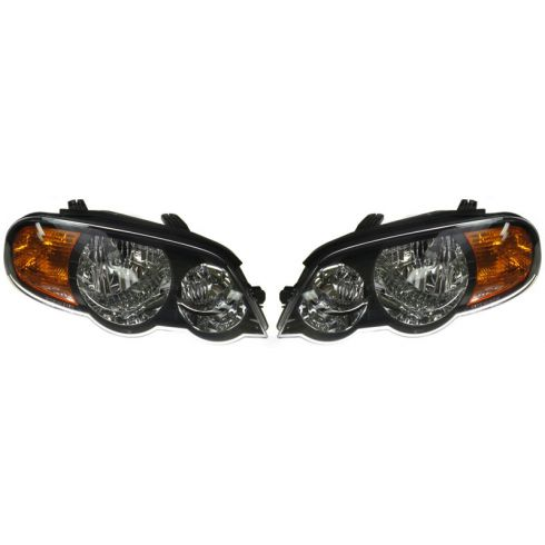 2002-04 Kia Spectra 5DR Headlight PAIR