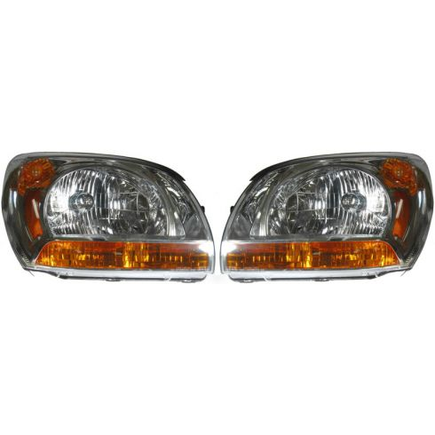 2005-08 Kia Sportage Headlight PAIR
