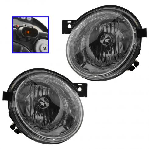04 (11/4/03)-06 Kia Magentis Optima Inner (High Beam) Headlight PAIR