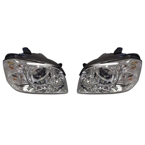 2005-06 Kia Magentis Optima Outer (Low Beam) Headlight PAIR