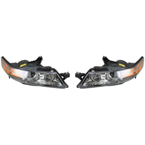 2007-08 Acura TL 3.2L Headlight PAIR
