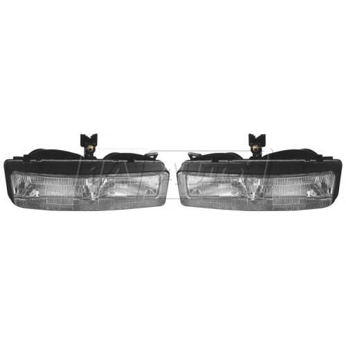 1992-93 Olds Cutlass Headlight PAIR