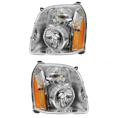 2007-10 GMC Yukon Denali Headlight PAIR