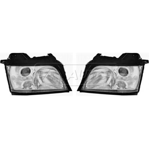1996-99 Audi A4 Headlight PAIR