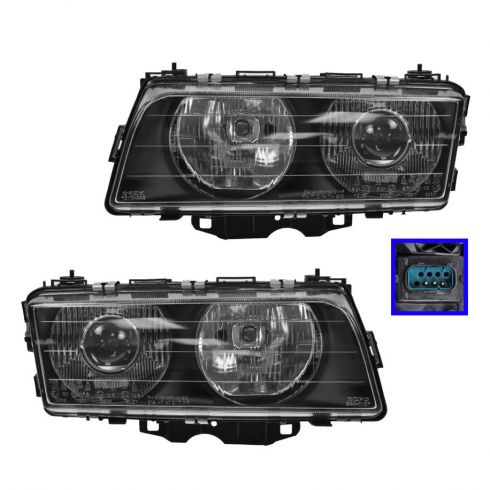 Headlight HALOGEN
