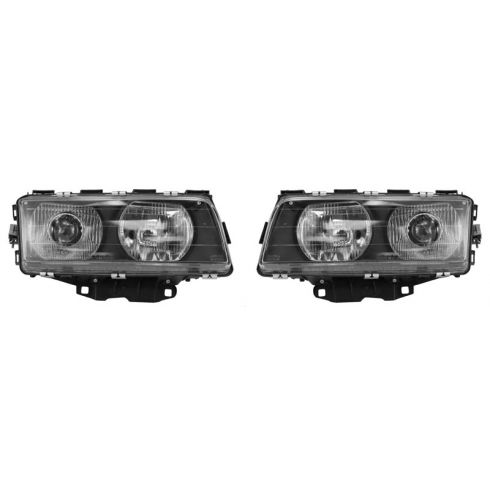1995-98 BMW 7 Series HID (w/Ballast) Headlight PAIR
