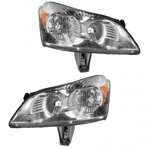 2009-10 Chevy Traverse Headlight (non-projector style) PAIR