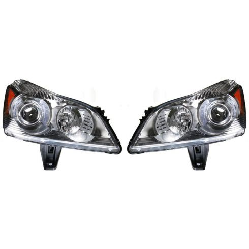 2009-10 Chevy Traverse Headlight ( Projector style) PAIR
