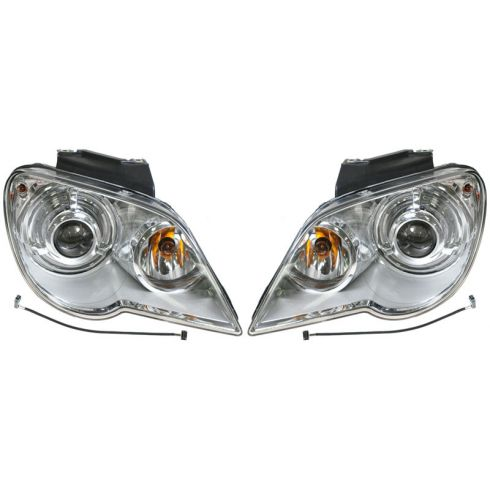 07-08 Chrysler Pacifica HID Headlight PAIR