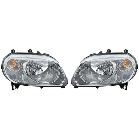 07-10 Chevy HHR w/B2E Pkg Headlight PAIR