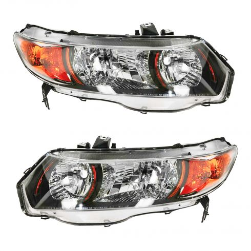 06-09 Honda Civic SI 2DR Headlight PAIR