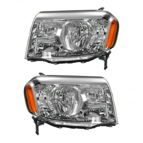09-10 Honda Pilot Headlight PAIR