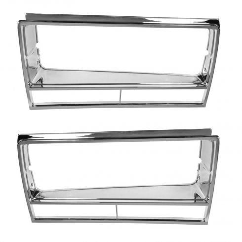 82-87 Chevy El Camino, GMC Sprint Caballero Headlight Bezel PAIR