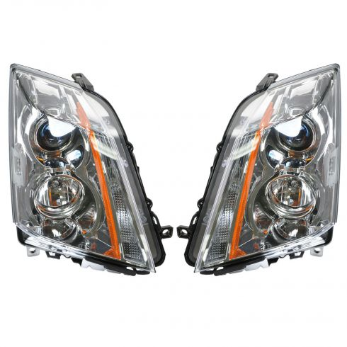 08 Cadillac CTS; 09 CTS-V; 09-11 CTS Halogen Headlight PAIR