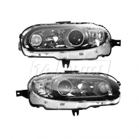 06 (to 4/12/06) Mazda Miata MX-5 Halogen Headlight PAIR