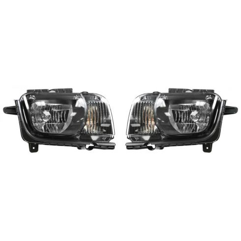 2010-11 Chevy Camaro Halogen Headlight PAIR