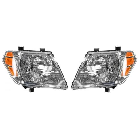 2009-11 Nissan Frontier Headlight PAIR