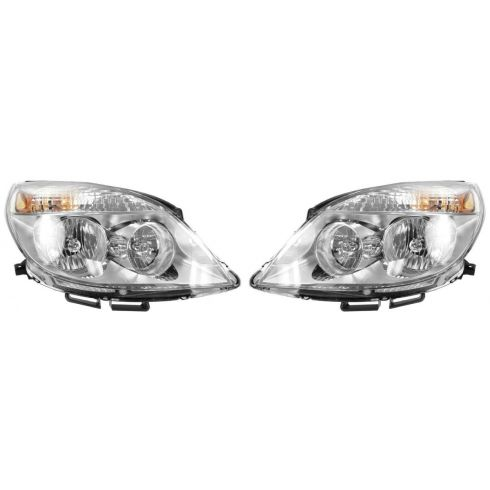 2007 (thru 4/11/07) Saturn Aura, Aura Hybrid Headlight PAIR