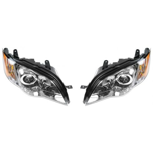 08-09 Subaru Legacy Outback Headlight PAIR