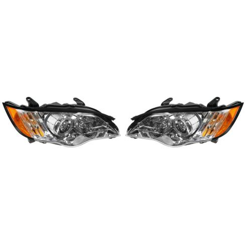 08-09 Subaru Legacy Headlight PAIR