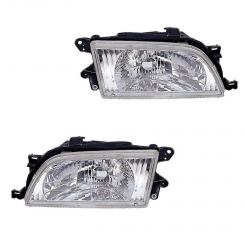 98-99 Toyota Tercel Headlight PAIR