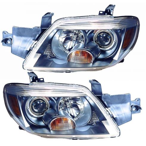 05-06 Mitsubishi Outlander Limited Headlight PAIR