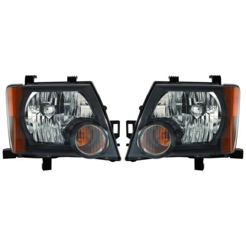 08 Nissan Xterra, 09-11 Xterra S, SE, Offroad Model Headlight PAIR