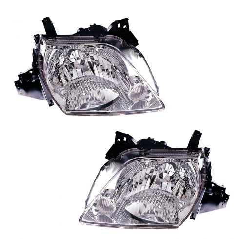 02-03 Mazda MPV Headlight PAIR