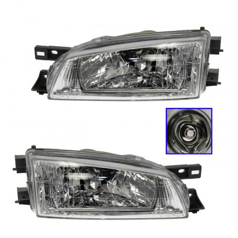 99-01 Subaru Impreza Headlight PAIR
