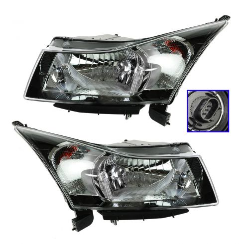 12 Chevy Cruze (2nd Design); 13 Cruze Headlight PAIR