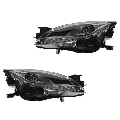 11-13 Mazda 6 Halogen Headlight PAIR