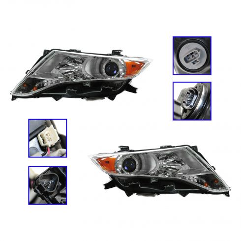 09-12 Toyota Venza HID Xenon Headlight (w/Bulbs & Ballast) PAIR
