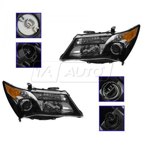 10-13 Acura MDX (w/Adaptive Lights) HID Headlight (w/o Igniter) PAIR