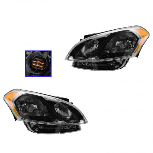 12-13 Kia Soul Non Projection (Non LED) Headlight PAIR