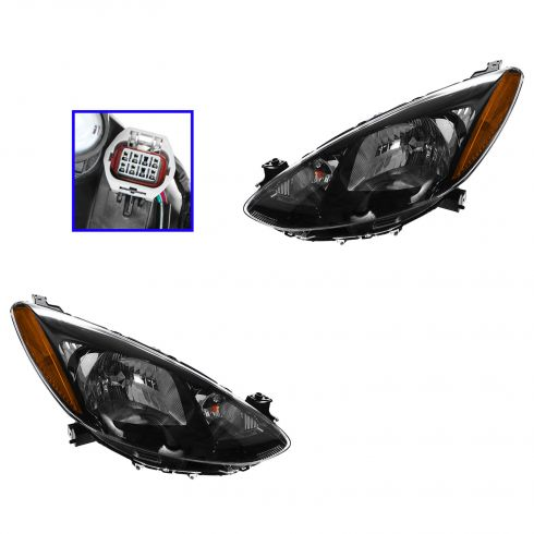 11-13 Mazda 2 Headlight PAIR
