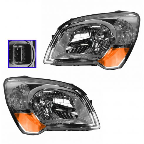 08 (from 3/25/08)-09 Kia Sportage Headlight PAIR