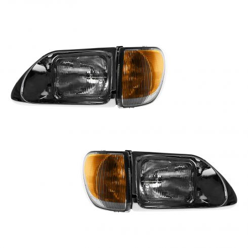 94-08 International 5900, 9200 Headlight Assy PAIR