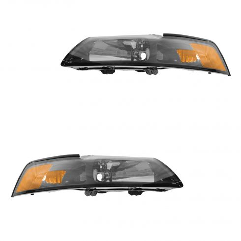 01-04 Ford Mustang Headlight PAIR (Ford)