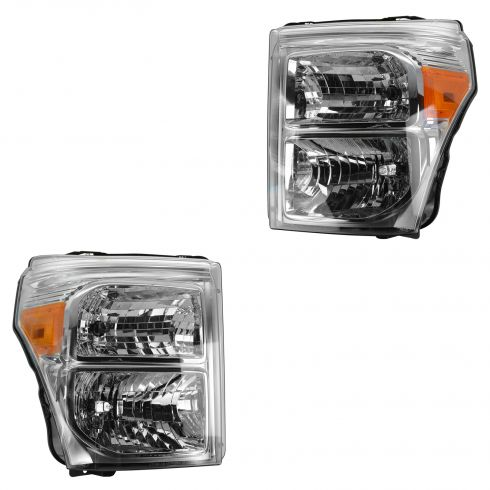 11-15 Ford F250SD-F550SD Composite Headlight Pair (Ford)